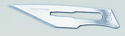 No 10A Sterile Stainless Steel Scalpel Blade Swann Morton Product No 0302 *