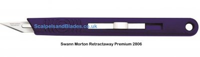 Retractaway Premium Knife Swann Morton Product No 2806 9206 *